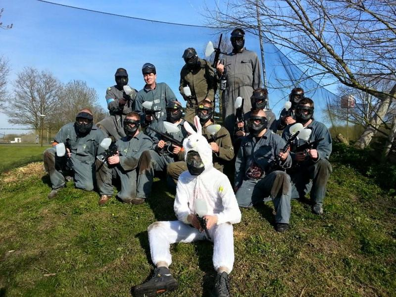 Outdoor paintball arrangementen