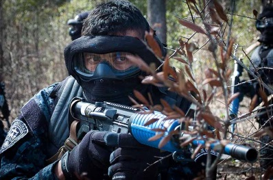 paintball outdoor foto