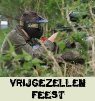 Vrijgezellenfeest Paintball
